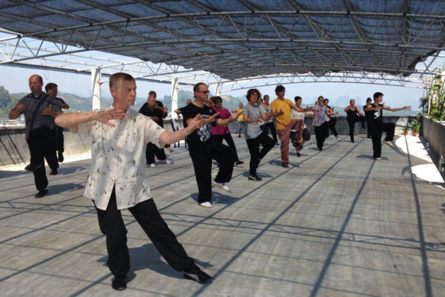 Testimonials from recent guests at Long Tou Shan Tai Chi School